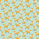 Woodland Friends Foxes