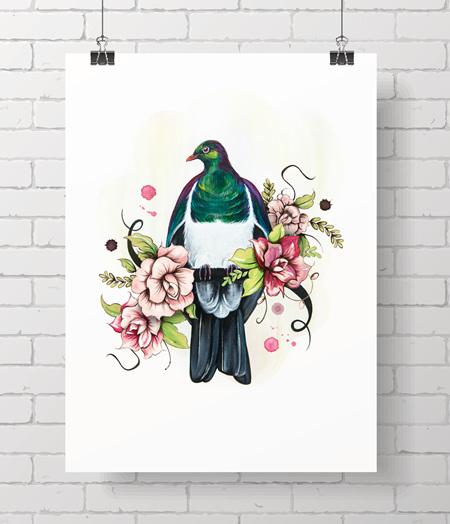 woodpigeon - aloha kereru