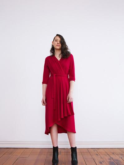 Wool Eliza Dress
