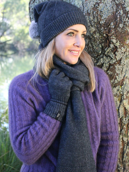Wool Hats & Scarves
