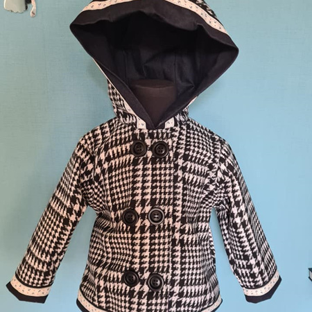 Wool Houndstooth Jacket Size 1