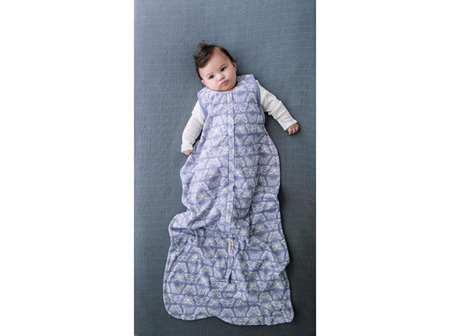 Woolbabe 3-Seasons Front Zip Summer Hebe Monarch 3-24 Months