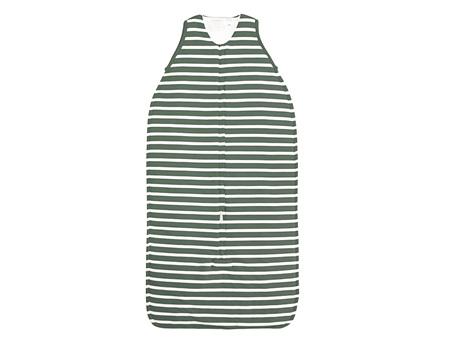 Woolbabe - Double Living Rewards! - Duvet Front Zip Sleeping Bag Fern Stripes 3-24 Months
