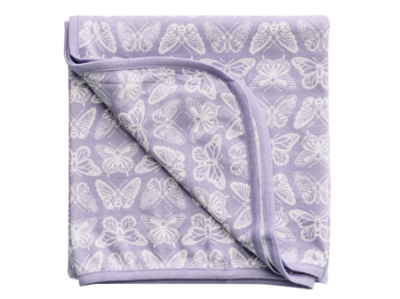 Woolbabe - Double Living Rewards! - Limited Edition Merino Cotton Swaddle Blanket Hebe Monarch