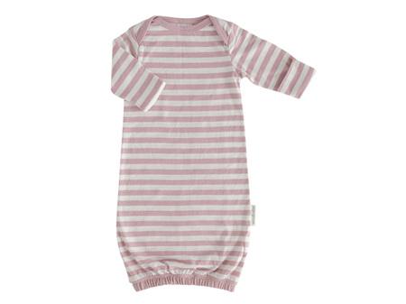 Woolbabe - Double Living Rewards! - Merino Organic Cotton Gown Dusk Newborn