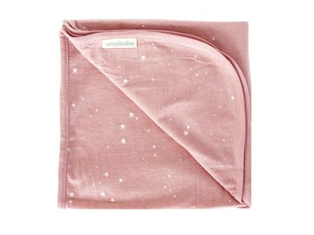 Woolbabe - Double Living Rewards! - Merino Organic Cotton Swaddle Blanket Dusk Stars
