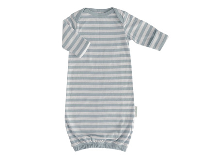 Woolbabe - Double Living Rewards! - Merino Organic Cotton Gown Tide 0- 3 months