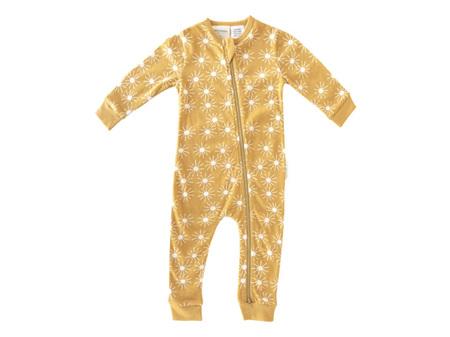 Woolbabe - Double Living Rewards! - Pyjama Suit Golden Sunshine 6 - 12 Months