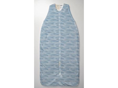 Woolbabe Limited Edition 3 Seasons Front Zip Sleeping Bag 2-4 years Summer Waves