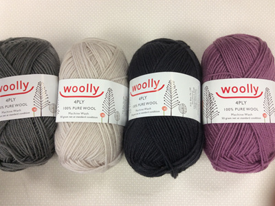 Woolly 4 ply Pure Wool