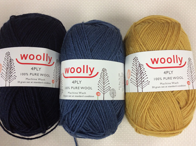 Woolly 4ply Pure Wool