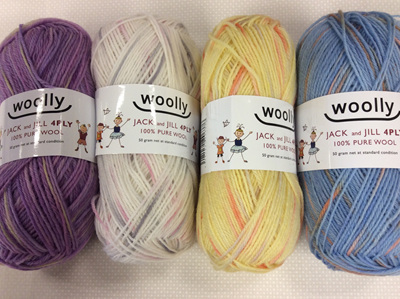 Woolly Jack n Jill 4ply