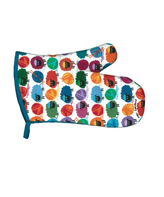 Wooly Brights Oven Glove