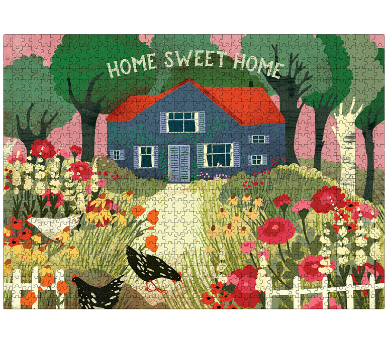 Workman 1000 Piece Puzzle Home Sweet Home buy at wwwpuzzlesnz.co.nz
