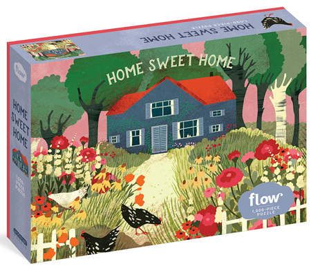Workman Publishing 1000 Piece Jigsaw Puzzle: Home Sweet Home