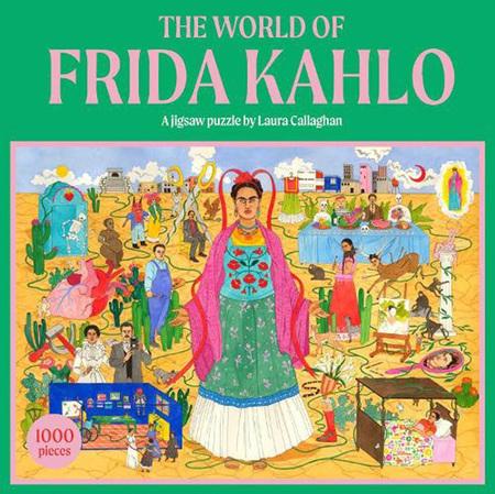 World of Frida Kahlo: A Jigsaw Puzzle