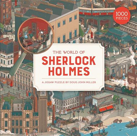 World of Sherlock Holmes: a Jigsaw Puzzle