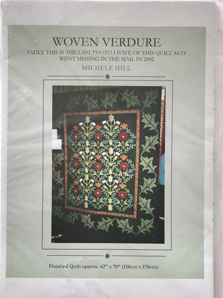Woven Verdure Quilt Pattern