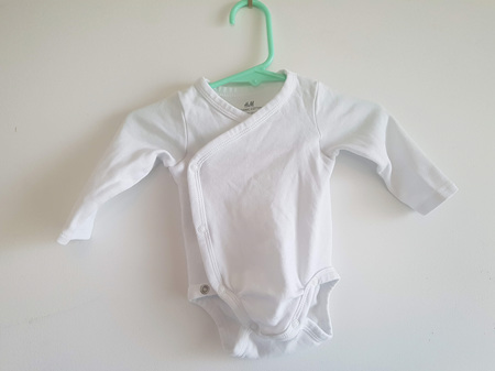 Wrap Bodysuit Organic Cotton