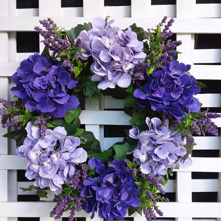 Wreath Purple and Lilac