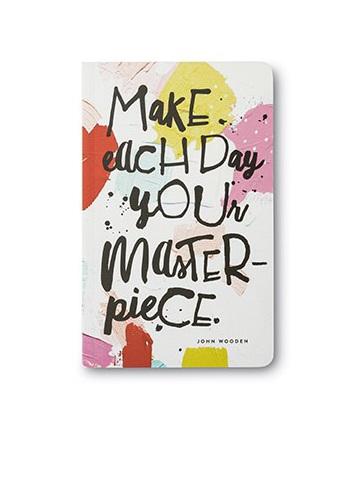 Write Now Journal Make Each Day Masterpiece