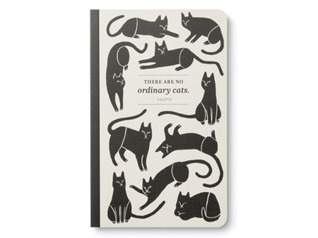 Write Now Journal No Ordinary cats