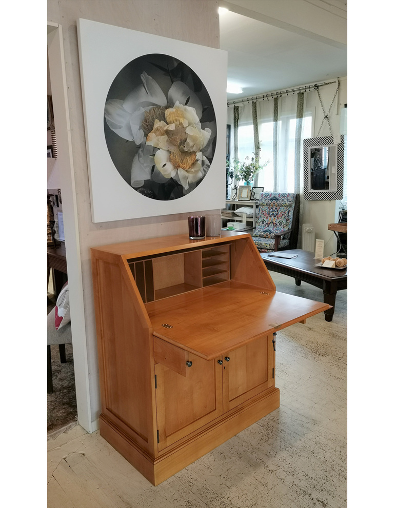 Writing Bureau Desk Solid wood made to order New Zealand bloomdesigns