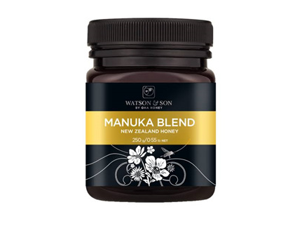 W&S Manuka Blend Blk Lid 250g