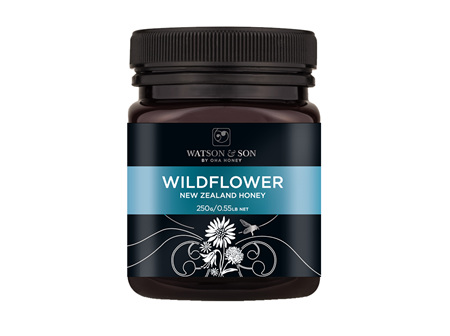 W&S WildFlower Honey 250g