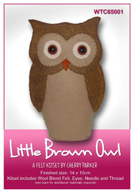 WTC65001  Little Brown Owl