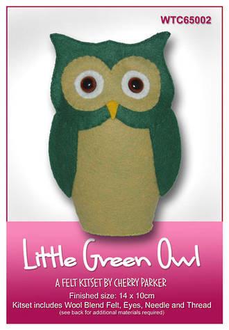 WTC65002  Little Green Owl
