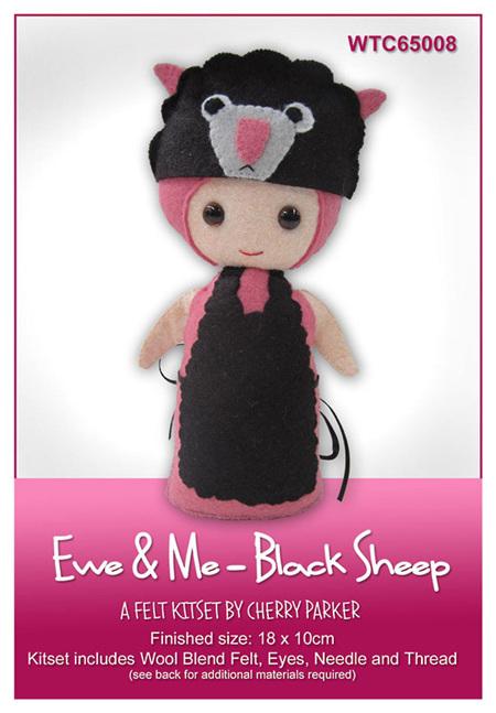 WTC65008  Ewe & Me - Black Sheep