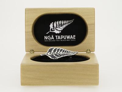 WW100 Centenary Programme - Ngā Tapuwae Limited Edition Pin