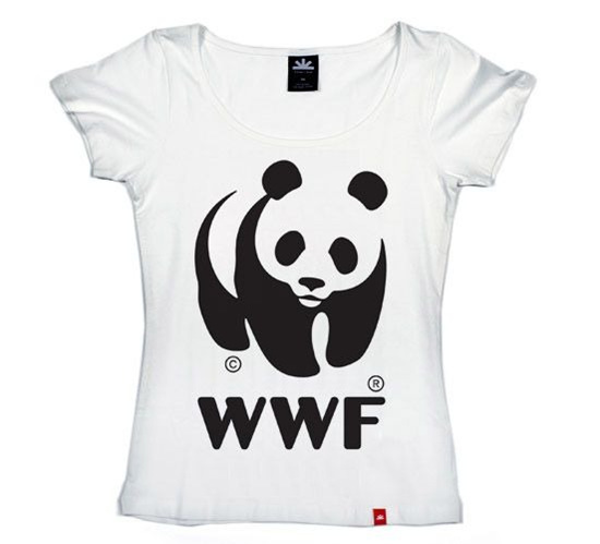 WWF Panda T-Shirt (Womens)