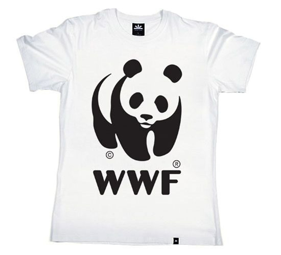 WWF Panda White T-Shirt (Kids)