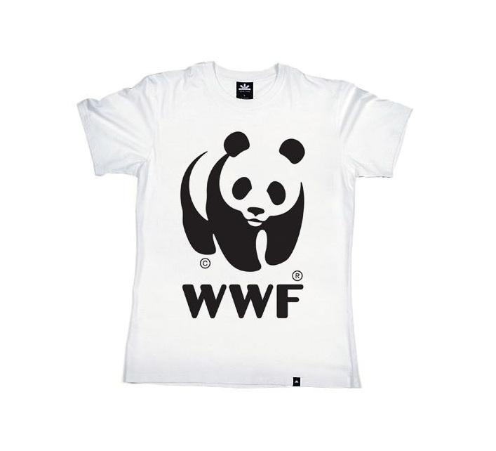 WWF Panda White T-Shirt (Kids)