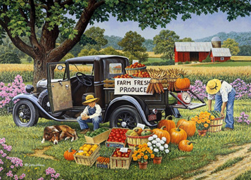 Holdson 1000 Piece Jigsaw Puzzle: Home Grown