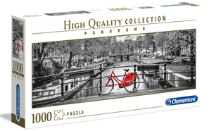 Clementoni 1000 Piece Jigsaw Puzzle: Amsterdam Bicycle
