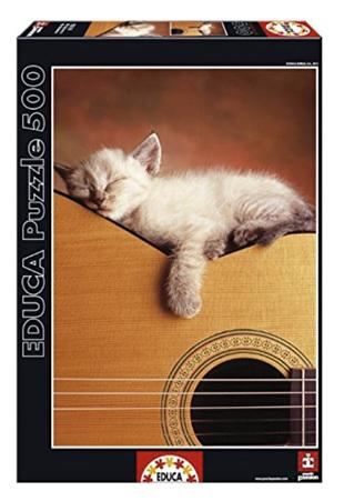 Educa 500 piece puzzle My Guitar