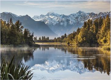 Holdson Pieces of New Zealand S4 1000 Piece Jigsaw Puzzle Sunrise Lake Matheson