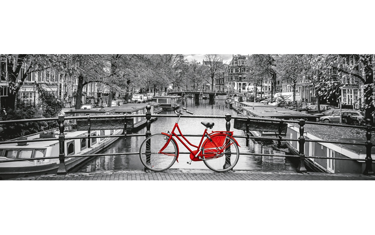 www.puzzlesnz.co.nz has Clementoni 1000 piece puzzle Amsterdam Bicycle panorama