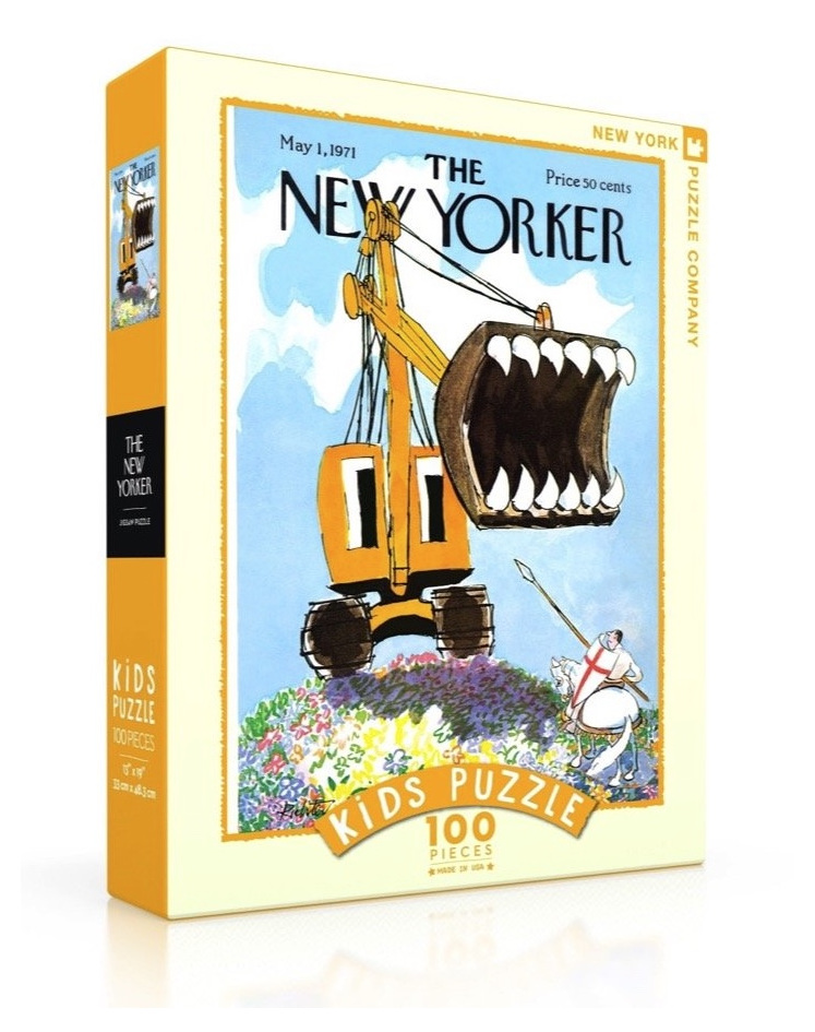 www.puzzlesnz.co.nz has 100 piece NYPC jigsaw puzzle Excavator Slayer