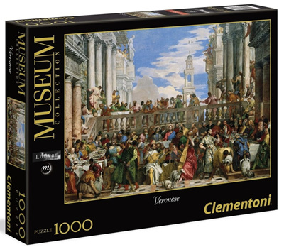 Clementoni 1000 Piece Jigsaw Puzzle: Wedding At Cana