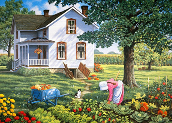 Holdson 1000 Piece Jigsaw Puzzle: Farmers Daughter