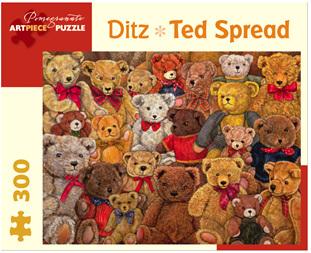 Pomegranate 300 Piece Jigsaw Puzzle: Ditz - Ted Spread