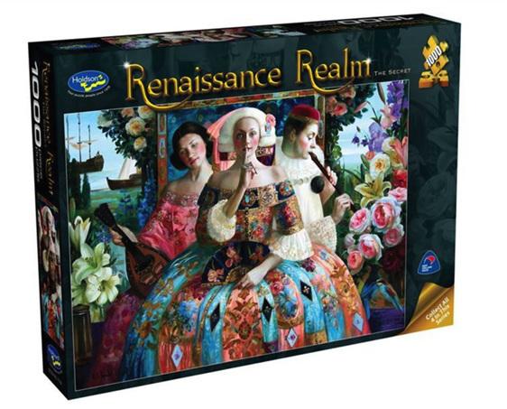 www.puzzlesnz.co.nz has Holdson 1000 piece puzzle Renaissance Realm 2 The Secret