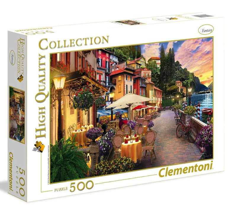 www.puzzlesnz.co.nz has Clementoni 500 jigsaw piece puzzle Monte Rosa Deaming