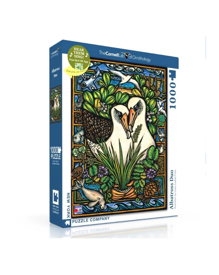 www.puzzlesnz.co.nz has 1000 piece puzzle Albatross Duo from New York Puzzle Co