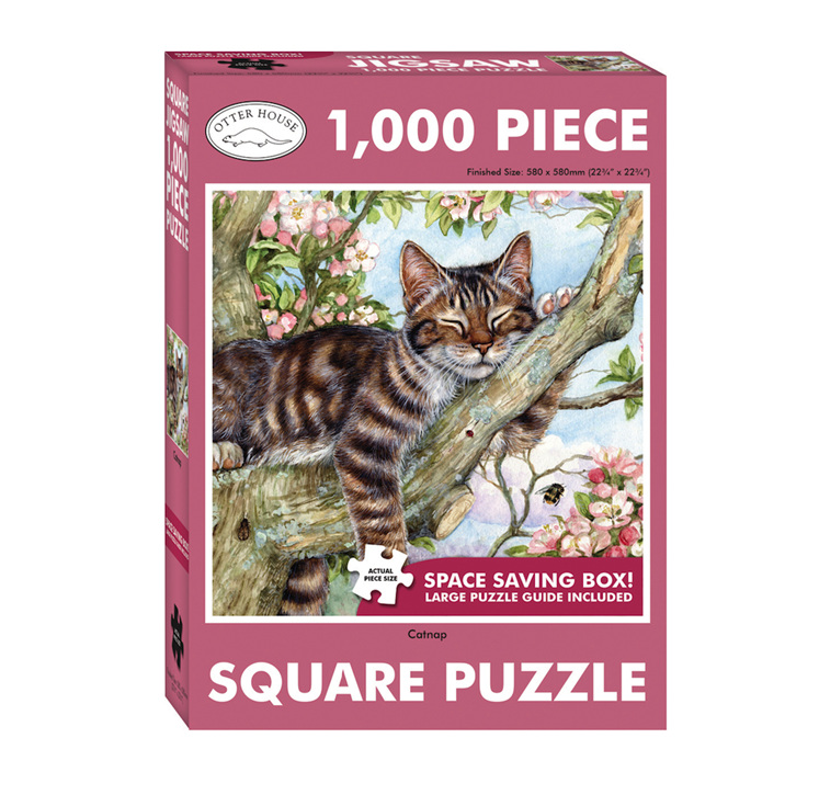 www.puzzlesnz.co.nz has Otter House 1000 piece puzzle Catnap