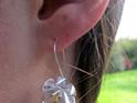X07 Golden Stamen Drop Earrings